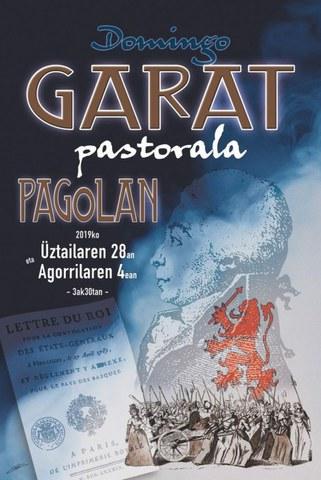 Domingo Garat pastorala Pagolan