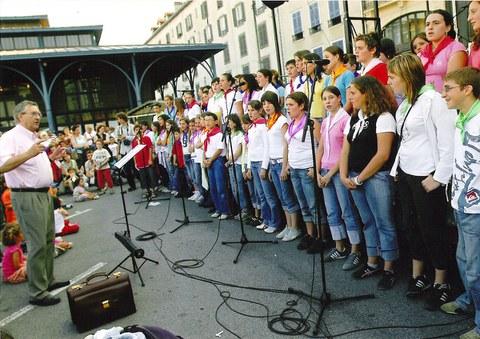 Euskal kantu ezagunen partiturak kantuzaleentzat