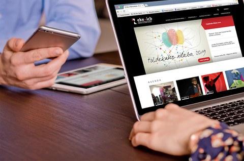 Euskal kultur erakundearen webgune arraberritua