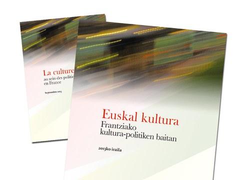 """Euskal kultura Frantziako kultura-politiken baitan"" ikerlana"