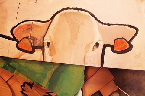 Denis Leroy artista baionesa Lurramaren 10. edizioan