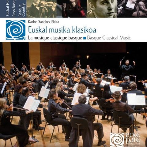 """""""Euskal musika klasikoa"""" liburua frantsesez telekargatzeko aukera"""