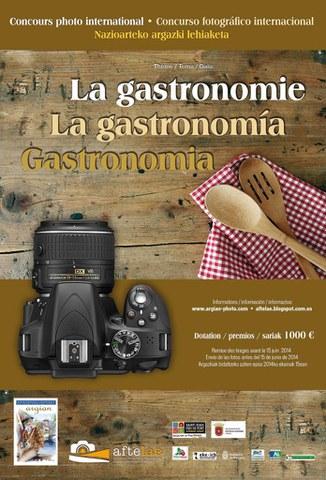 Gastronomia da Argian elkartearen 2014ko argazki lehiaketaren gaia