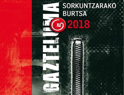 Gazteluma literatur sorkuntzarako burtsa 2018