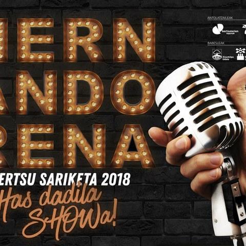 Hernandorena bertsu sariketa 2018