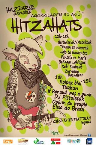 """""""Hitzahats"""" eguna Hazparnen"""