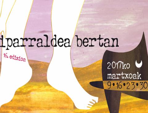 """""""Iparraldea Bertan !"""" zikloaren 16. edizioa Donostian"""