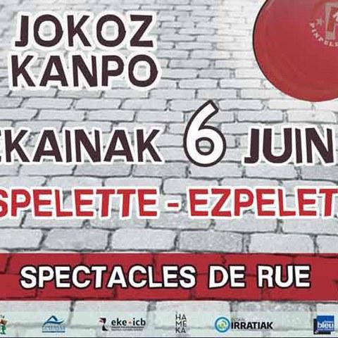 Jokoz Kanpo festibalaren 6. edizioa Ezpeletan