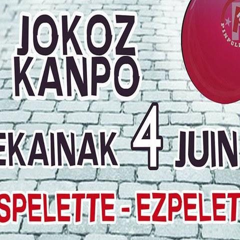 Jokoz Kanpo festibalaren 7. edizioa Ezpeletan