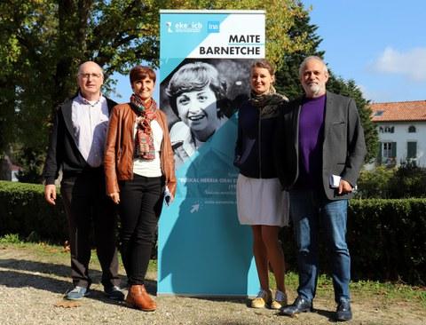 Maite Barnetche kazetariaren altxorrak Euskal kultur erakundean ikusgai