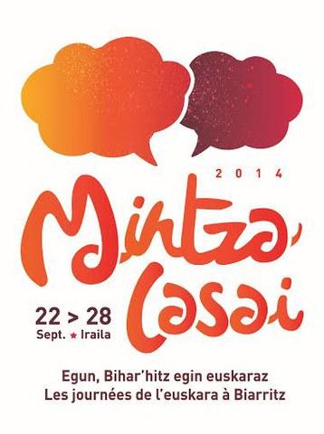 Mintzalasai egunen 3. edizioa Biarritzen