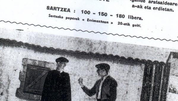 Bordaxuri afitxa (1954)