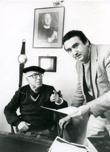Piarres Larzabal (1915-1988) eta Daniel Landart © Daniel Velez