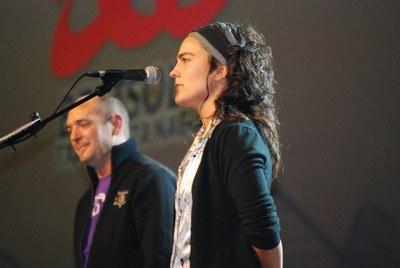 Maialen Lujanbio txapelduna, Andoni Egaña. Euskal Herriko Txapelketa nagusia, 2009 (EKE - Maite Deliart)