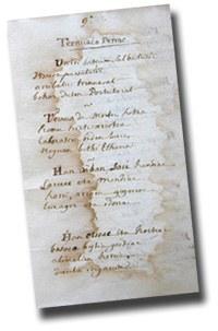 ''Ternuaco penac'', euskal arrantzaleek Ternuan eraman biziari buruzko eskuz idatzitako bertsuak (XVIII. mendea)