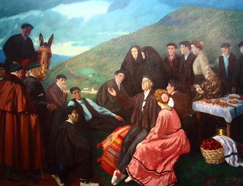 ''L'improvisateur''. Gabriel Roby (Baionako Euskal Museoa)