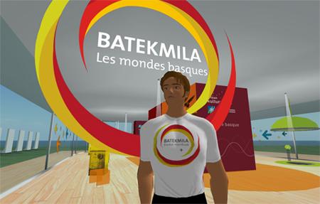 Batekmila Second Life unibertsoan