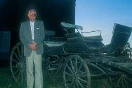 Juan Arbebilde, Nafarroa Behereko Ainhizen sortu Jean Arbelbideren biloba, 2003 ; co. Kepa Etchandy