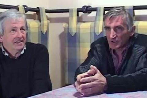 Betti Bidart eta Marcel Haristoy