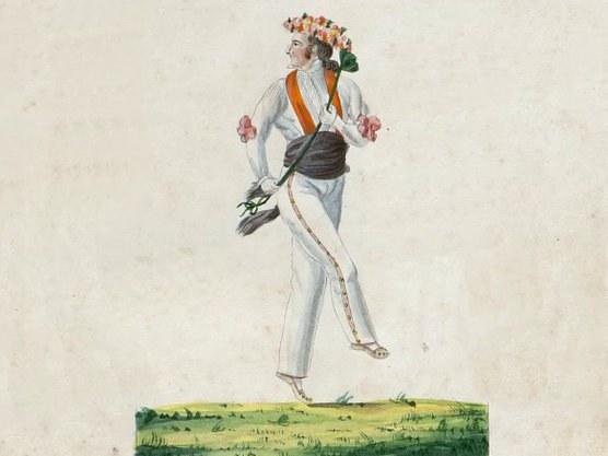 « Danseurs basques » 1828-1830