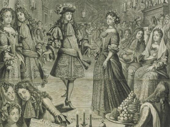 Euskal dantzariak 1700. urtean