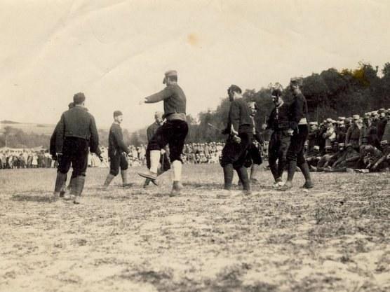 Zuberotar dantzariak 1914-1918ko gerlan