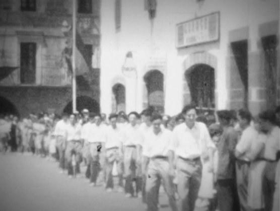 Mutil-dantza Elizondon (1950 inguruan)