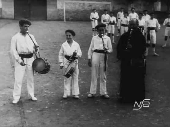 Lekarozeko kaputxinoen ikastetxean (1927)