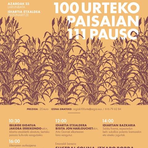 100 urteko paisaian 111 pauso