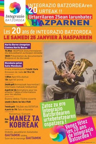 20 ans d'Integrazio Batzordea