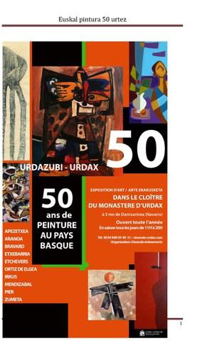 50 ans de peinture au Pays Basque