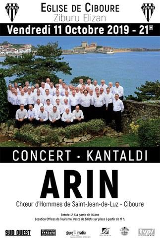 Choeur de l'Arin