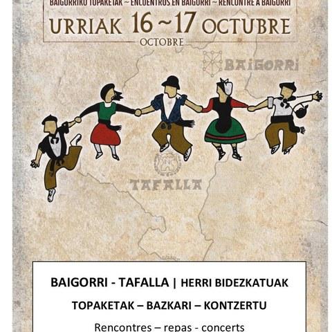 Baigorri-Tafalla   Deux cultures unies