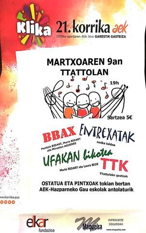 BBAX - Entrexatak - Ufakan bikotea - TTK