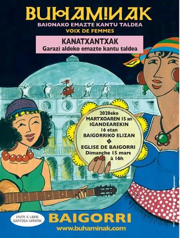 Buhaminak + Kanatxantxak