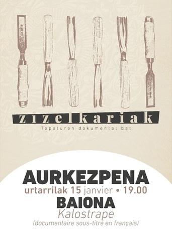 """Documentaire """"Zizelkariak"""""""