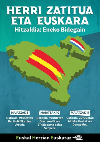 """Eneko Bidegain: """"Herri zatitua eta euskara"""""""
