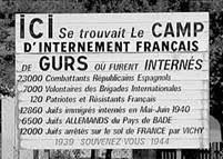 """Eric Mailharancin et Jean-Claude Larronde """"Le camp de Gurs"""""""