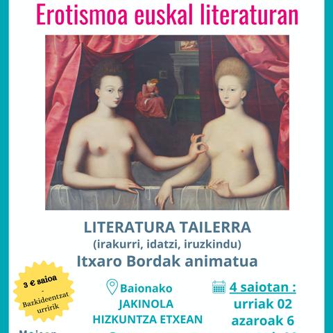 L'érotisme dans la littérature basque