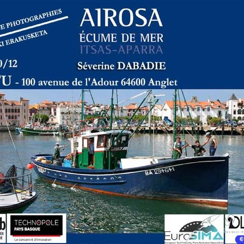 """Exposition """"Airosa-Ecume de mer"""""""