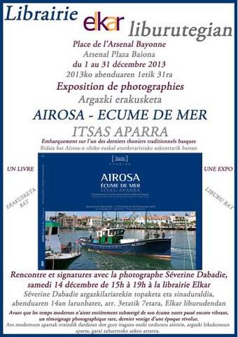 """Exposition """"Airosa - Ecume de mer"""""""