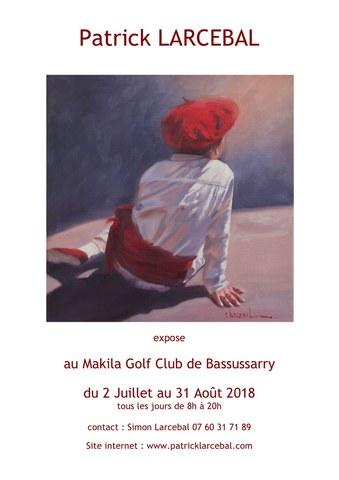 Exposition de Patrick Larcebal
