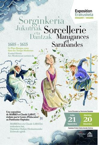 "Exposition ""Sorcellerie, Manigances et Sarabandes"""