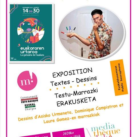 Exposition Textes-Dessins