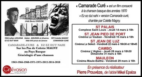 """Film """"Camarade Curé / Ez, ez dut nahi"""""""
