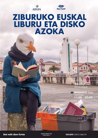 Foire du livre et du disque basques à Ciboure