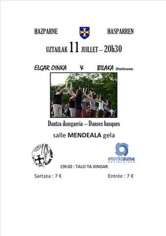 Groupes de danse Elgar Oinka et Bilaka