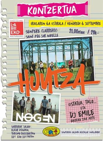 Huntza + Nogen + DJ Emile