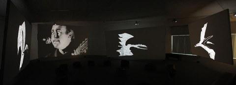 """Installation multimedia """"Ikimilikiliklik"""""""