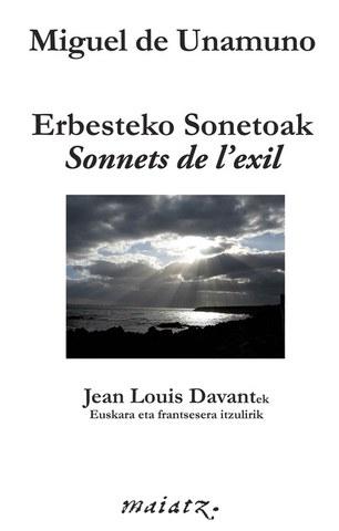 """Jean-Louis Davant """"Unamunoren Exilioaren Sonetoak"""""""